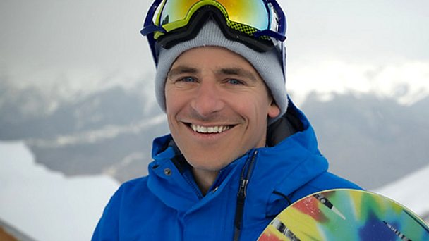 Fomer professional snowboarder and BBC commentatorTim Warwood