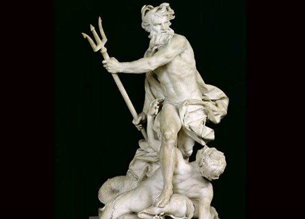 Neptune Calming the Waves, 1757 (marble)