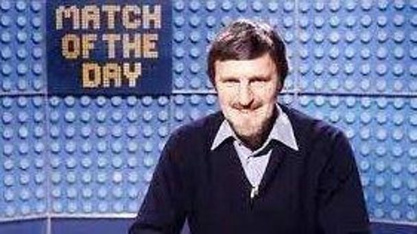 Jimmy Hill on Match of the Day