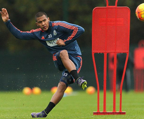 Salomon Rondon in training - Getty Images