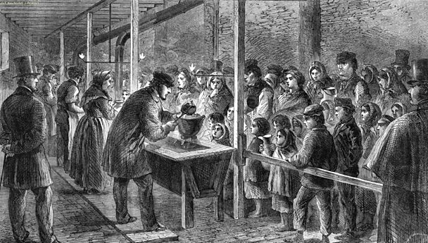 Cotton workers, London Illustrated News, 22 Nov 1862 - Manchester Library