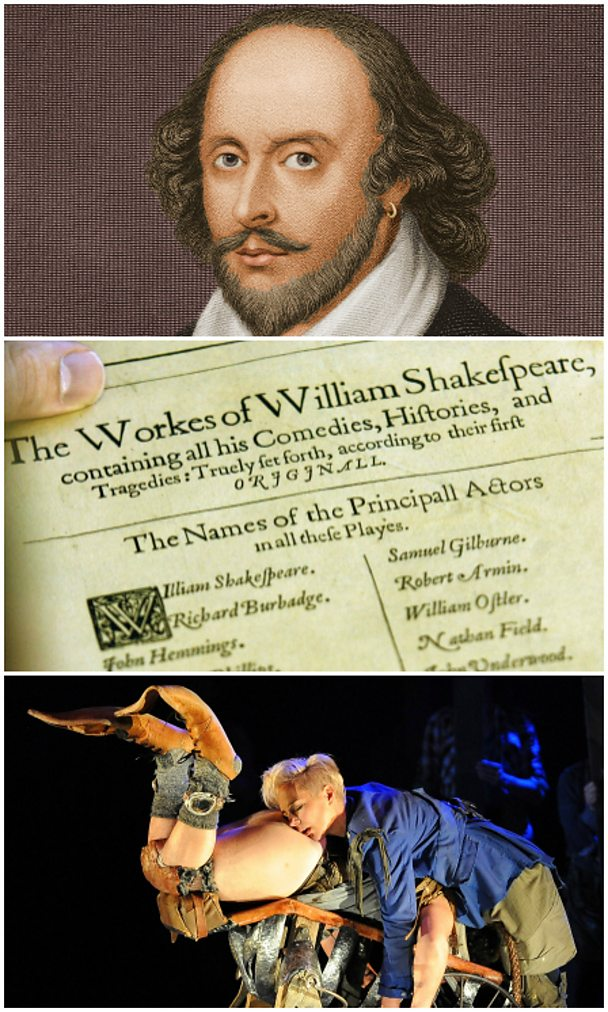 Shakespeare collage - Getty Images