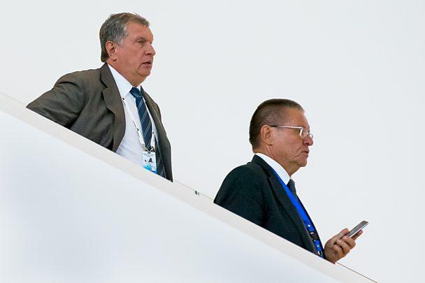 Sechin and Ulukaev