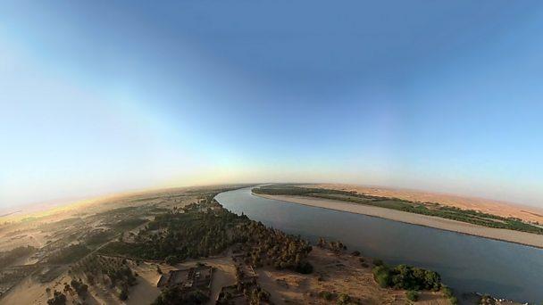 Nile aerial - edit adjust