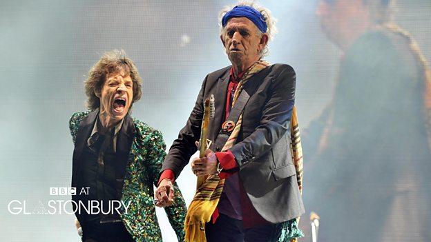The Rolling Stones at Glastonbury 2013