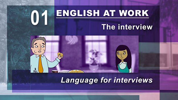 Get that job with English at Work