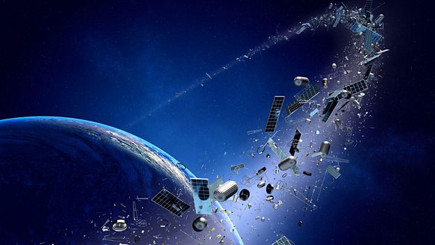 The harpoon that clears space junk