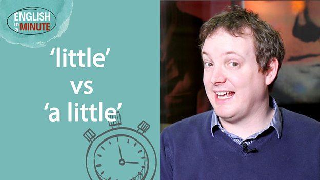 'Little' vs' a 'little'