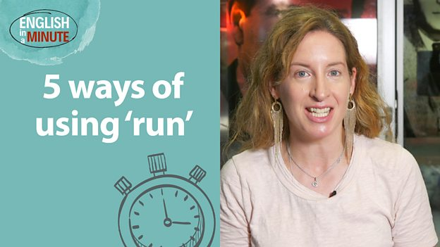 Learn 5 ways of using 'run' ... very quickly!