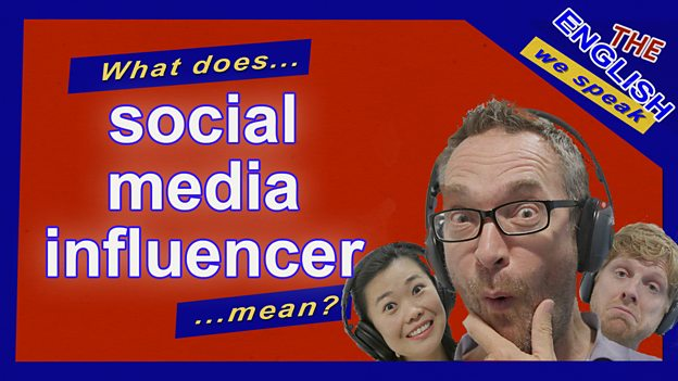 What's a social media 'influencer'?