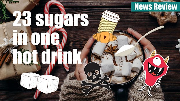23 sugars in some festive drinks