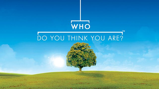 BBC Who Do You Think YOu Are? logo