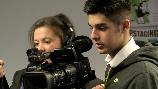 Pupils shooting video