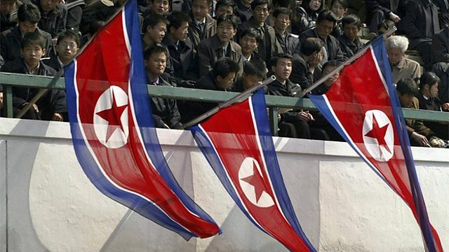 North Korea's silent football matches