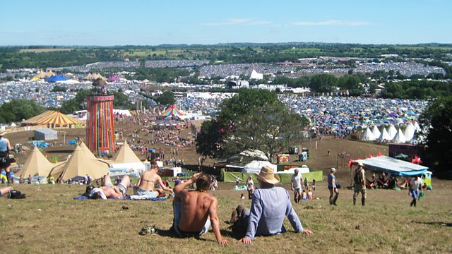 A view of Glastonbury