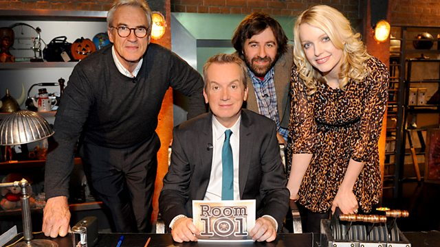 What pet hate would you put into room 101?