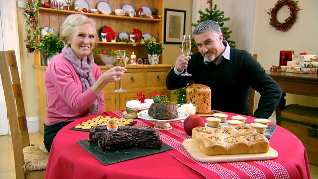 Christmas Cake Recipe Uk Mary Berry: The Great British Bake Off, Christmas Masterclass