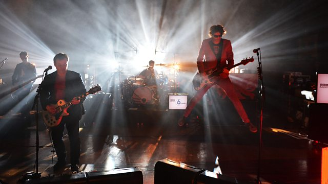 Manic Street Preachers at 6 Music Live