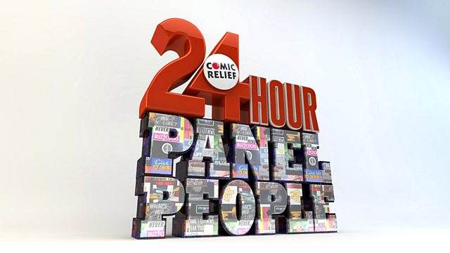 Image for Comic Relief's 24 Hour Panel People