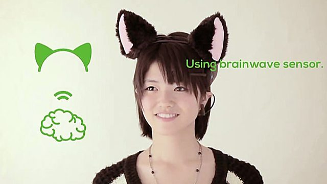 Brainwave cat ear sensors