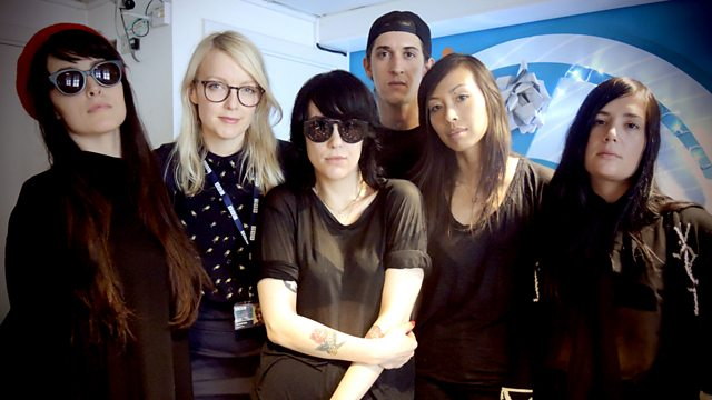 Image for With Dum Dum Girls live in session