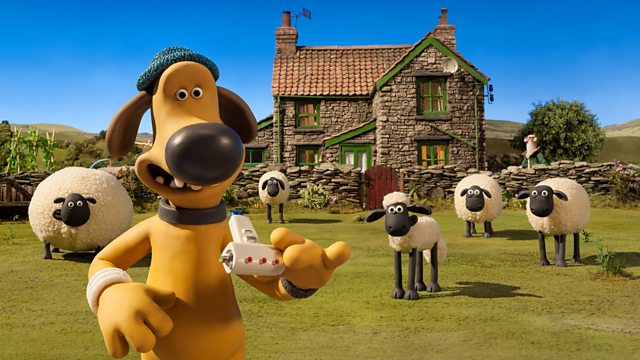 Shaun the sheep farmer toy