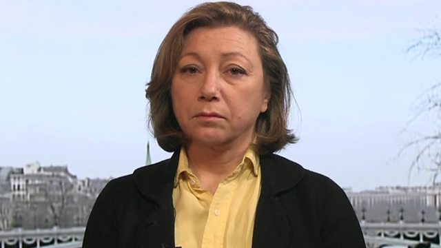 Bassma Kodmani, Member of the negotiating team of the Syrian opposition