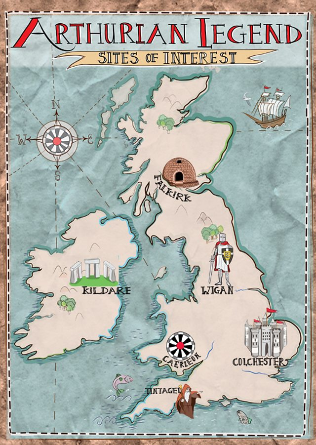Map Of England King Arthur.Britain And Europe 英國及歐洲 十一月2014