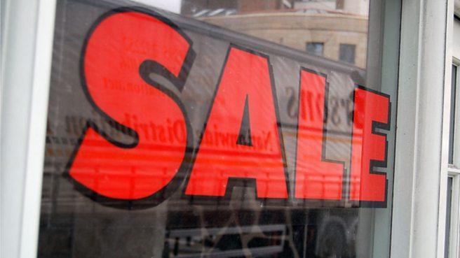Sale sign