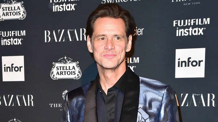 Jim Carrey at NYFW