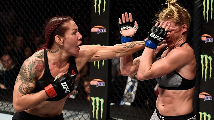 Image result for UFC 219: Cris Cyborg beats Holly Holm to retain featherweight title