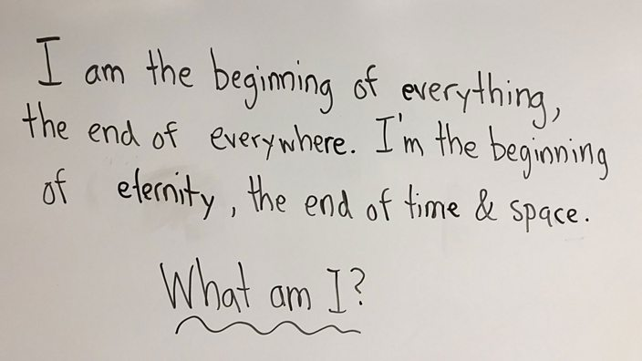 First Grader Gives Profound Answer to Simple Riddle; the Internet Goes Crazy
