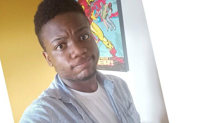 Selfie of Oluwatayo