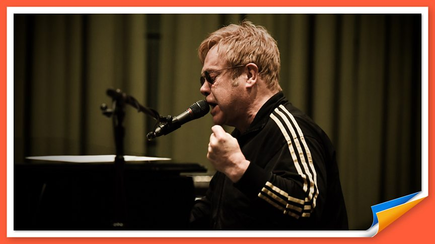 Listen to Elton John's live session at Maida Vale