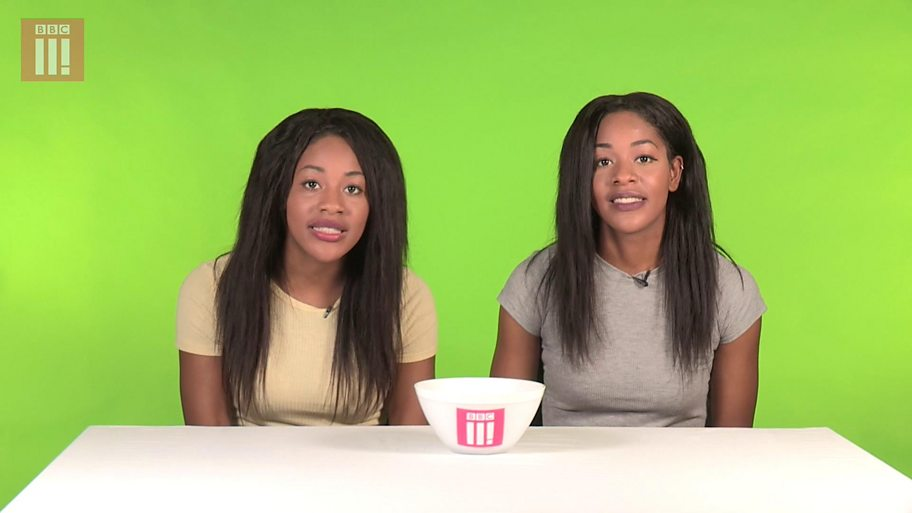 BBC Three speaks to twins about things they hear