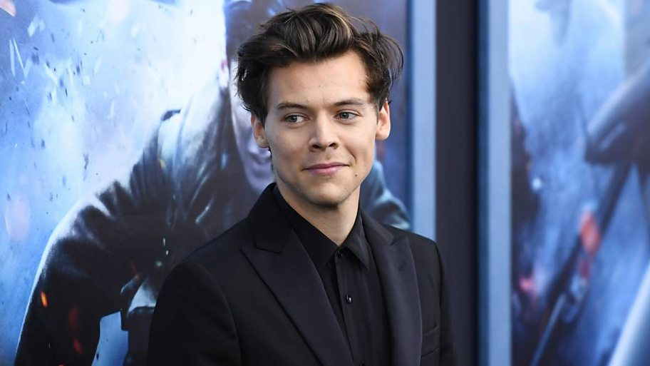 Harry Styles at the premiere of Dunkirk