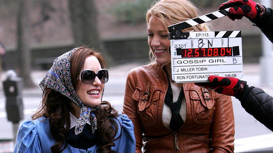 Gossip girl in filming