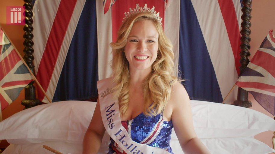 Miss Holland wearing crown and sash