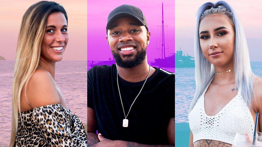 Three young people on Ibiza