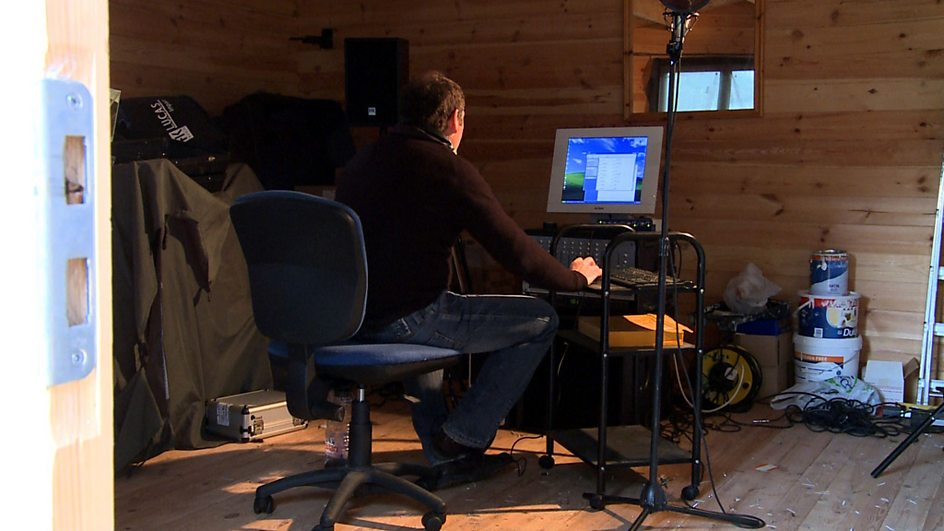 Bbc two the people 39 s tenor gallery the people 39 s tenor for Garden shed music studio