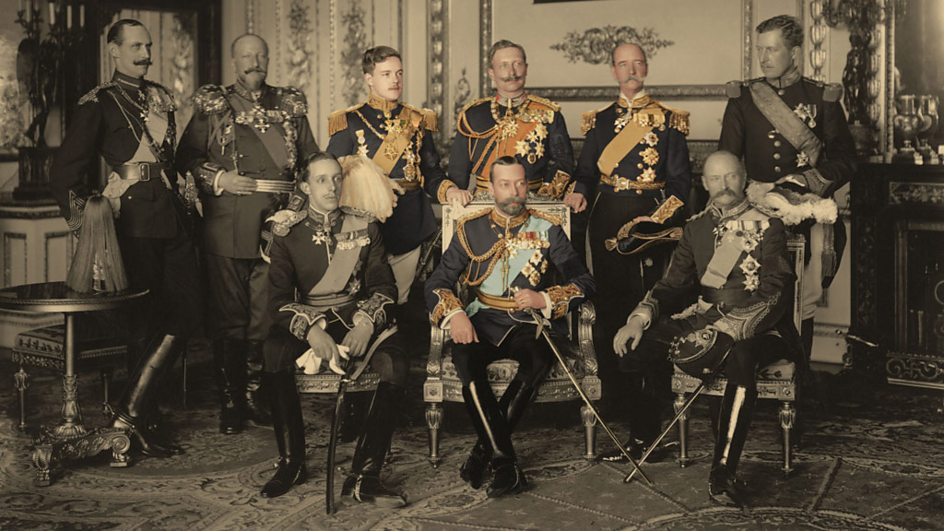 Bbc Two Royal Cousins At War The Monarchs And Their Families