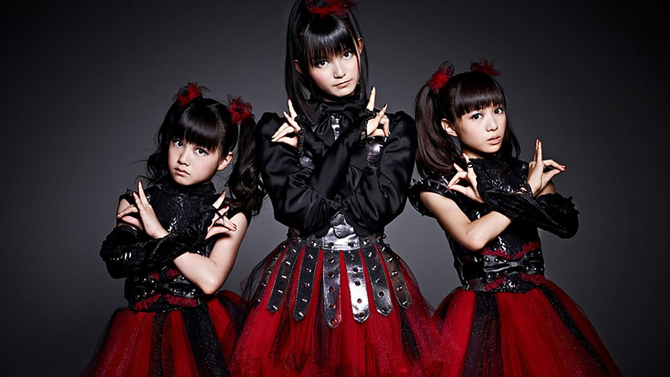 babymetal new songs playlists videos tours bbc music. Black Bedroom Furniture Sets. Home Design Ideas