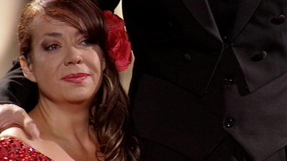 BBC Three - Dancing on Wheels, Diana Morgan-Hill and Mark Foster - The Tango - p02bkckp