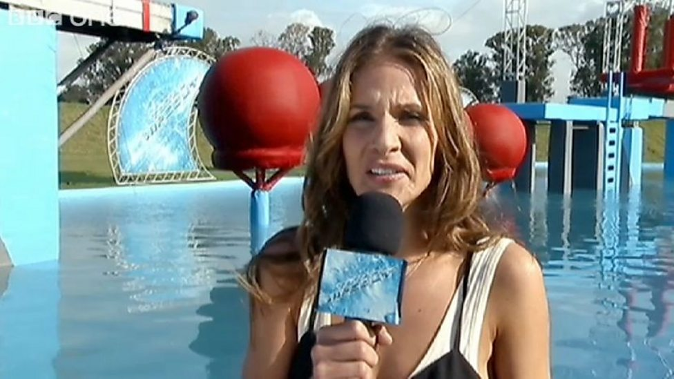 Wipeout Hostess BBC One - Total Wipeout