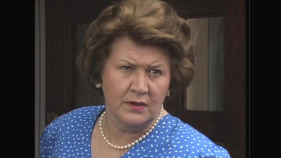 Patricia routledge bbc one keeping up appearances series 3 early