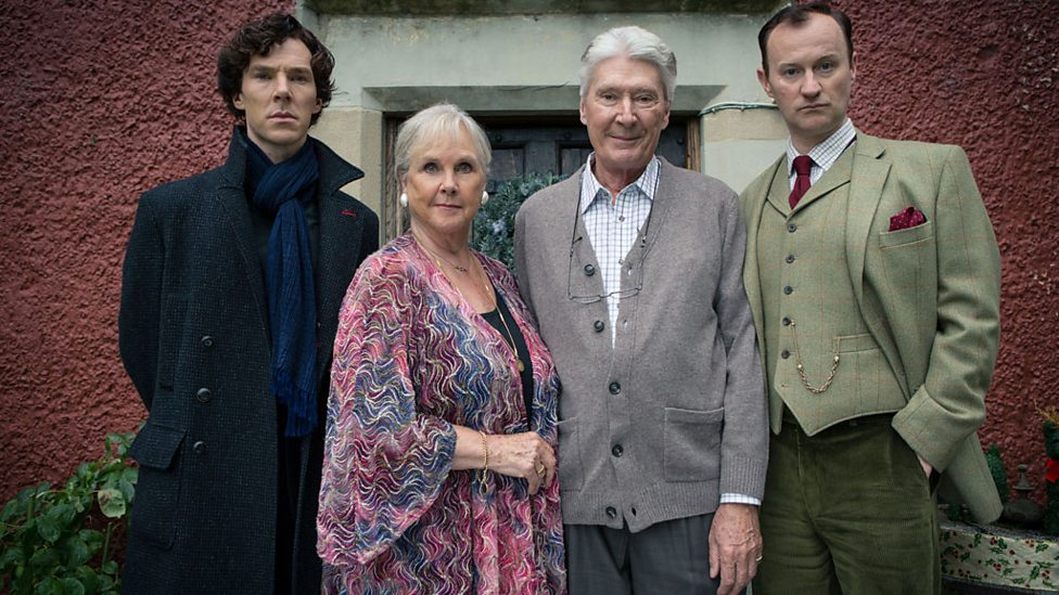 Sherlock+mom+dad+Mycroft His Last Vow