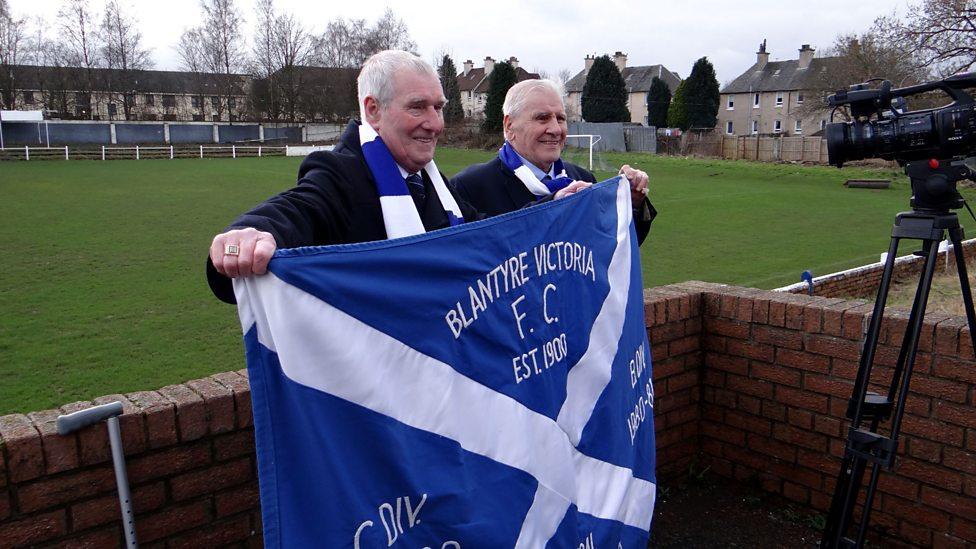 BBC ALBA - Blantyre Victoria F.C. fans Jim Clelland and Jim Gibson ...