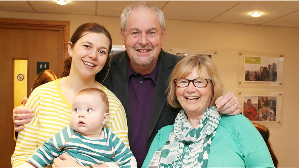 BBC Radio Ulster - Chrissie, Hilary and baby Tom Russell with ...