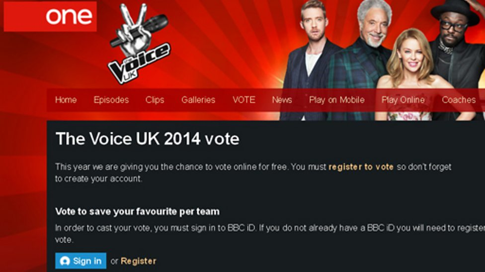 BBC One - The Voice UK - How to - 61.6KB