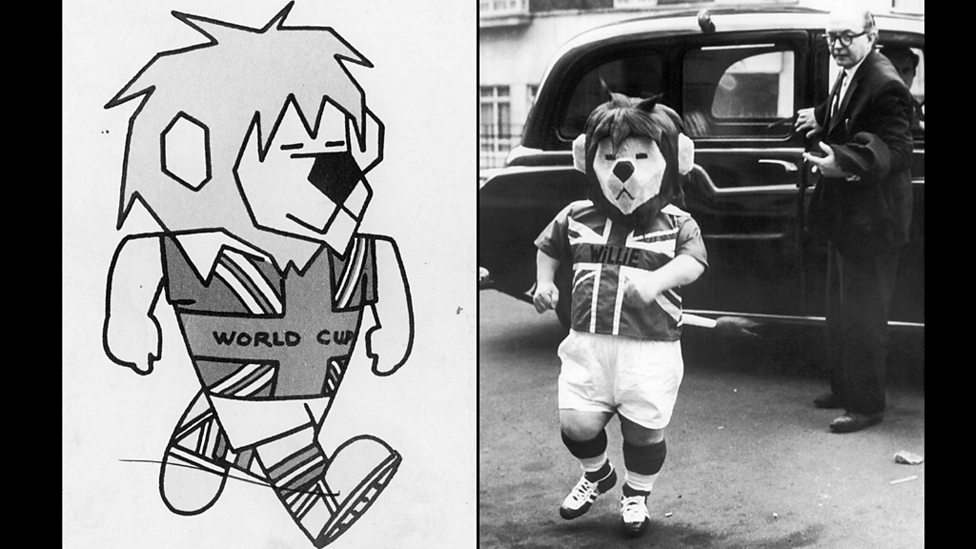 The 1966 World Cup mascot on the page and in real live action!